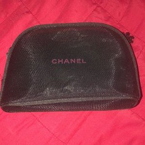 Chanel mesh Makeup bag, Authentic!
